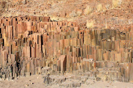 geological formation:  The Organ Pipes , a geological formation of volcanic rocks in the name-giving shape of organ pipes  Located in Damaraland, Namibia