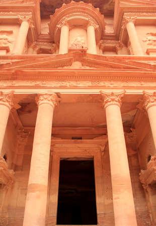 The treasury at Petra, Lost rock city of Jordan  Petra Stock Photo - 16372207