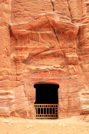 Royal Tomb in the lost rock city of Petra, Jordan  Petra Stock Photo - 16372234