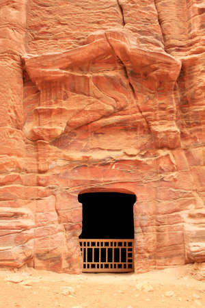 Royal Tomb in the lost rock city of Petra, Jordan  Petra Stock Photo - 16372234