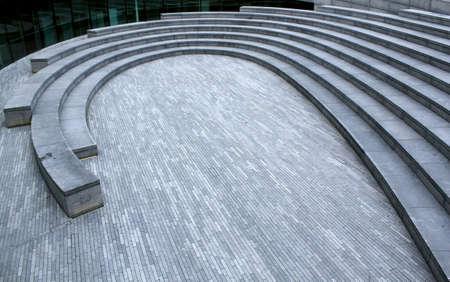 London City Hall outside anphitheate, UK photo