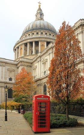 London famous public telephone booth  United Kingdom