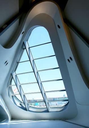 Modern design window in expo zaragosa 2008  Spain                               Editorial