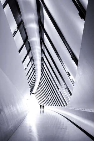 Expo Zaragoza footpath bridge pavilion perspective                                Editorial