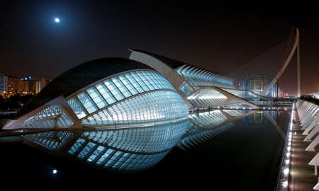 City of arts and science  Valencia, Spain  Project by Santiago Calatrava
