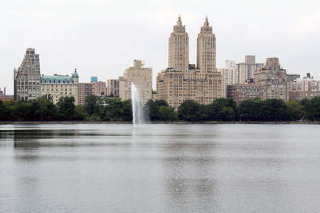 New York City Central Park Lake photo