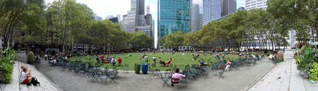 bryant: NEW YORK - SEPTEMBER 02  Bryant Park, New York City