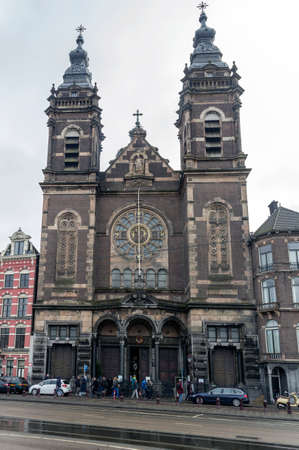 sint: Saint Nicholas Church (Sint Nicolaaskerk), Amsterdam, The Netherlands. City