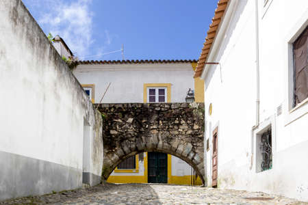 historical periods: Portuguese Alentejo city of �vora old town. Due to its well-preserved centre, still partially enclosed by medieval walls, and a large number of monuments dating from various historical periods, including a Roman Temple, �vora is a UNESCO World Heritage Si