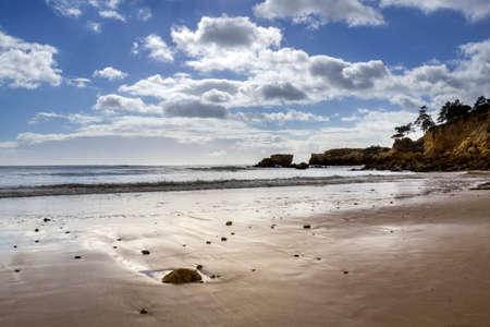 algarve: Western Algarve beach scenario of St.Eulalia Portugal.