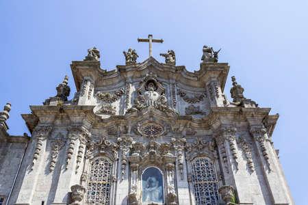 carmo: Carmo Church facade detail, in Porto. Portugal