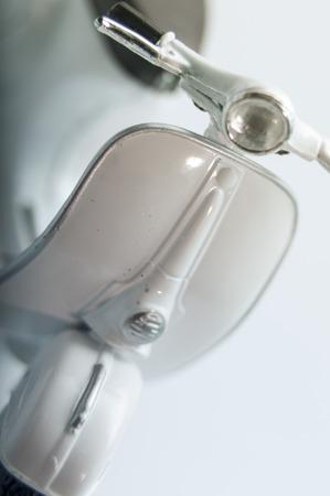 vespa piaggio: Vintage dettagli Vespa bianca