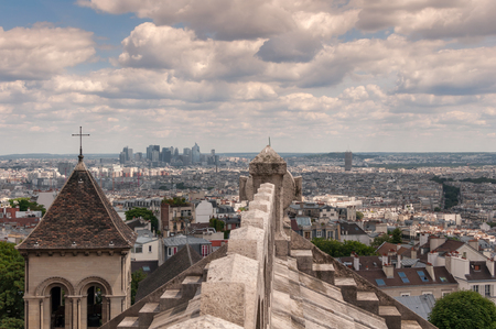 sacre: View of Paris from the Sacre Coeur
