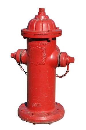 borne fontaine: Bornes d'incendie avec un fond blanc