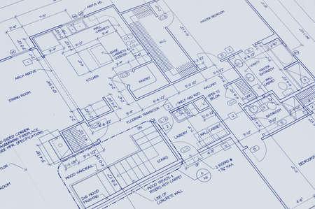 Blueprint of a house 免版税图像 - 1125027