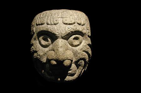 Stone pre inca-sculptuur