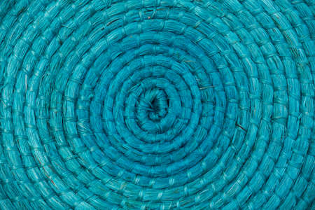 Turquoise placemat texture