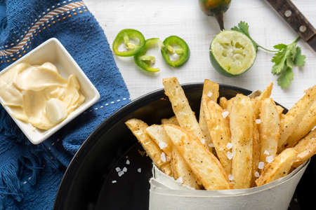 Traditional french fries