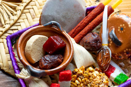 Traditional mexican candies Stock Photo