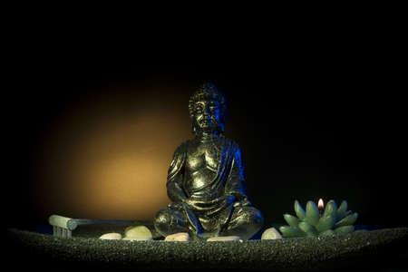 Meditating Buddha Figure photo