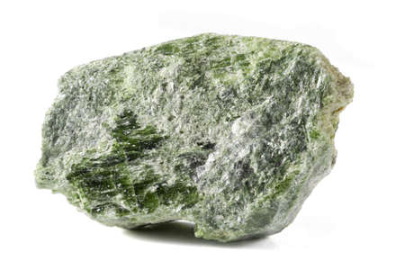 subsoil: Chrome Diopside Mineral Stock Photo