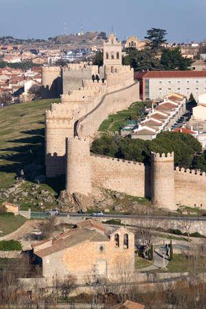 avila: Wall of Avila View