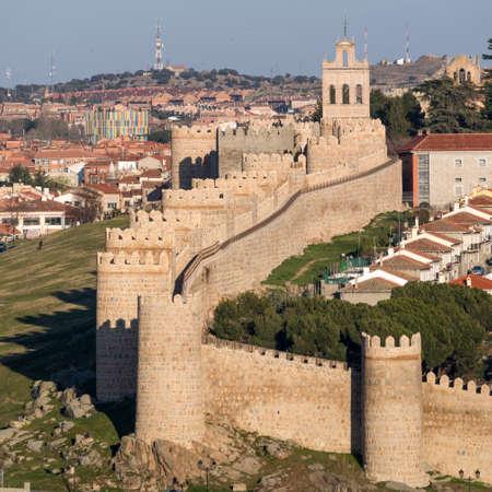 Wall of Avila View