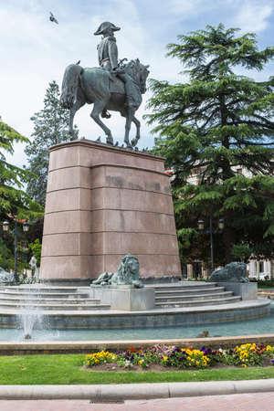 st james s: Memorial General Espartero. Logrono, Spain. Built between 1872-1875.
