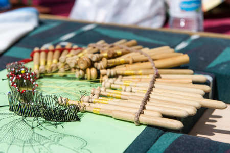 Material to Make Bobbin Lace  A Typical Spanish Craft