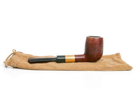 tabaco: Tabaco de tubo aislado en blanco