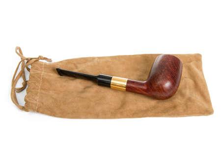 snuff: Tabaco de tubo aislado en blanco