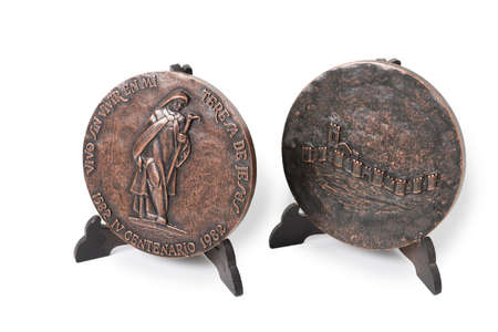 commemorating: Commemorating Medal the Fourth Centenary of the Death of St. Teresa. Year 1982.