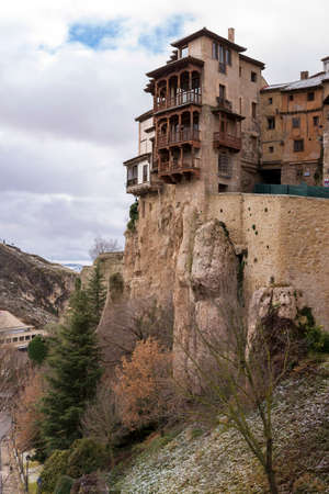 View of the city of Cuenca, Spain.
