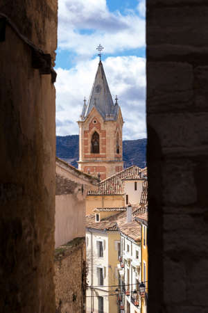 View of View of Enchanted City of Cuenca, Spain.