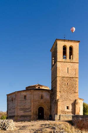 City of Segovia, Spain. Vera Cruz Church. Stockfoto