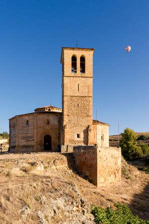 City of Segovia, Spain. Vera Cruz Church. Banque d'images