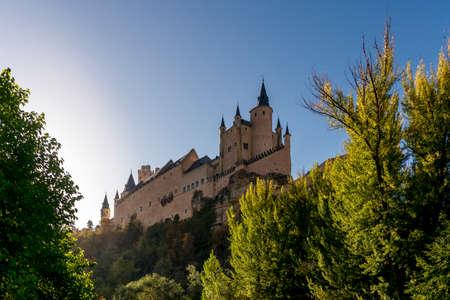 City of Segovia, Spain. Alcazar. Stockfoto