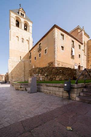 Basilica of San Isidoro, Leon, Spain. Romanesque style. Stockfoto