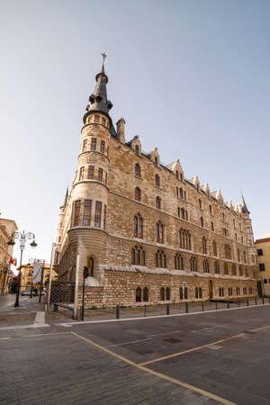 Casa Botines, Leon, Spain. Desingned by Antoni Gaudí.