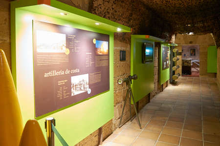 In 1981 it is rehabilitated to turn it into a museum, the Museum of the Castle of San Carlos was inaugurated on September 26, 1991. In 1997 the Consortium Castillo de San Carlos was created, which manages the museum Editorial