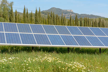 Solar photovoltaic power generation system , solar photovoltaic system, photovoltaic power system Archivio Fotografico