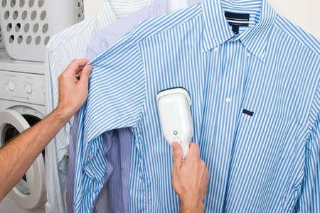 Stomen een shirt Stockfoto