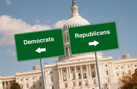 testify: Street signs in Washington D.C.