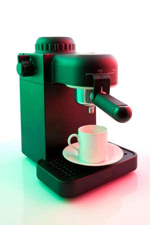 Espresso coffee maker 版權商用圖片