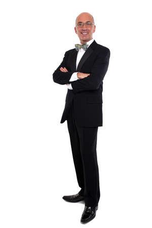 tuxedo: Handsome man in a tuxedo