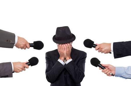 interviewed: Man being interviewed
