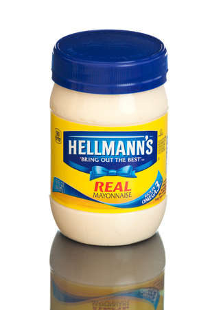 MIAMI, USA - February 9, 2015: Americas 1 Mayonnaise is made with real, simple ingredients: eggs, oil and vinegar.
