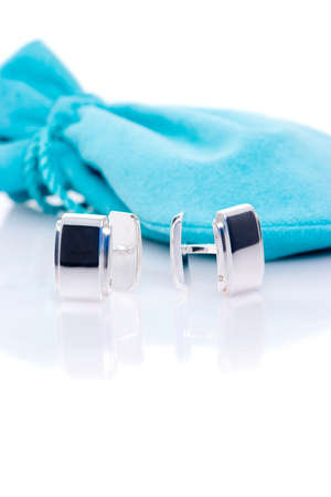cuff: Sterling silver cuff links
