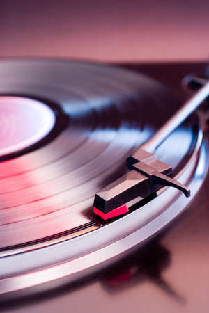 Turntable with shallow depth of field Imagens