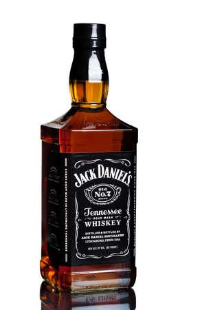 miami usa february 12 2015 bottle of jack daniels jack daniel s